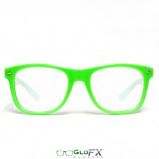 Spiral glasses green
