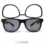 Spacebril flip-up black