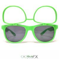 Flip-up green