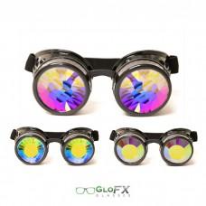 Goggles black kaleidoscope