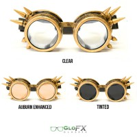 Brass spike goggle diffraction