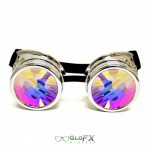 Goggle chrome kaleidoscope