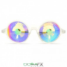 White wormhole rainbow lenses