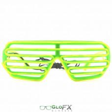 Green Shutter Frame Green