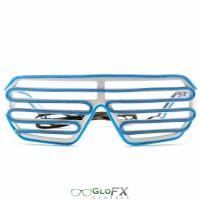 Shutter frame blue