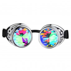 Caleidoscoop Goggle Silver