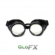 Goggles black diffraction