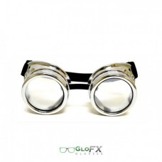 Goggles chrome diffraction
