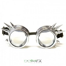 Spike crome diffraction goggle