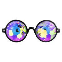 Caleidscoop bril Brilliant Rainbow Black